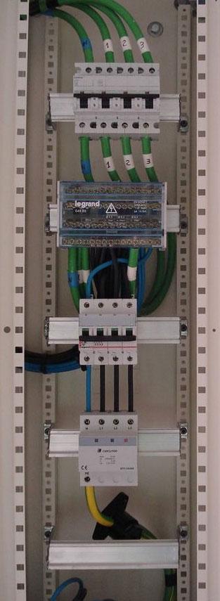 Electricidad co n mantenimiento e instalacioines el ctricas - Cuadro electrico domestico ...
